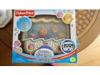 Fisher Price Ocean Wonders Soothing Cot Toy for Babies with soothing music and white noise