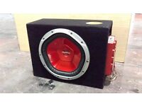 "1200w Sony XPlod 11"" Subwoofer with Amplifier"