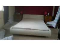 Double bed and matress