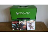 Xbox One - 500gb comes with 3 games