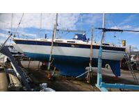 COLVIC COUNTESS 33 KETCH, GORGEOUS cruising yacht £33500