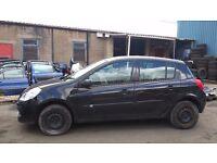 Clio Passenger Mirror 2007 Black