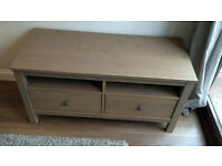 IKEA Hemnes TV unit with drawers