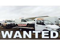 Volkswagen caddy transporter van wanted