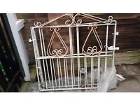 Further reduction - Two wrought iron garden gates