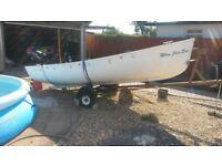 Day Boat 14ft with Suzuki four stroke engine