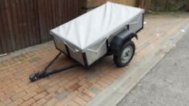 RECONDITIONED 4FT X 3FT TRAILER.