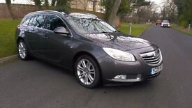 2009 VAUXHALL INSIGNIA 2.0 CDTI EXCLUSIVE NAV 160, FULL SERVICE HISTORY