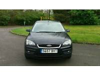 FORD FOCUS 2007 TITANIUM 5DOOR MOT TILL 21/07/2017 WARRANTED MILES HPI CLEAR EXCELLENT CONDITION