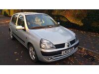AUTOMATIC RENAULT CLIO PRIVILEGE 1.4 SILVER 5 DOOR HATCHBACK PETROL 'LOW MILAGE'