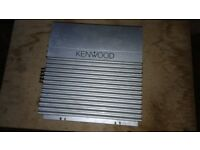 Kenwood amplifier in good used condition!Can deliver or post!