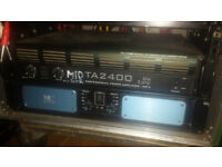 MC2 T2000 Amplifier - 2 x 1150 @ 4ohm (Funktion One)