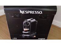 Nespresso Magimix Citiz M195CN in Black. Brand New
