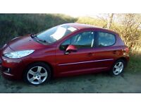 Peugeot 207s very good condition only 15,000 miles mot til april 3200 ono