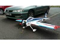 Rc 20 cc petrol engine 3d Plane