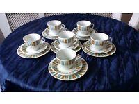 retro tea set