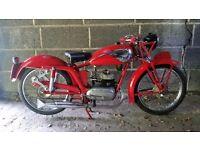 MV Agusta Sport 125cc 1951