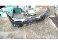 FORD FOCUS FRONT BUMPER PANTHER BLACK DAMAGED REPAIRABLE ST170 2001-2004
