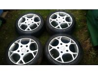 Ford transit sport/st 18inch alloys and tyres