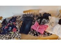 Maternity clothes bundle from next size 10 with tummy support belt perfect condition