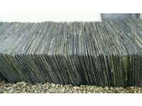 Half price today Bangor Blue Slates tiles reclaimed