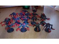 Warhammer 40k Tyranids, Dark Eldar and Sanguinary Guard