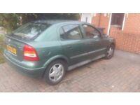 Vauxhall astra! Great car. Mot dec 17