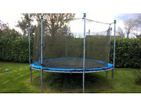 Body Sculpture Trampoline & Safety Net - 4 meter / 13ft dia - disassembled ready for collection -