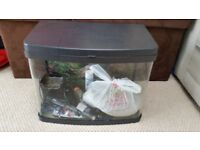 Fish tank / aquarium Panorama (curved front) 64 litres everything you need