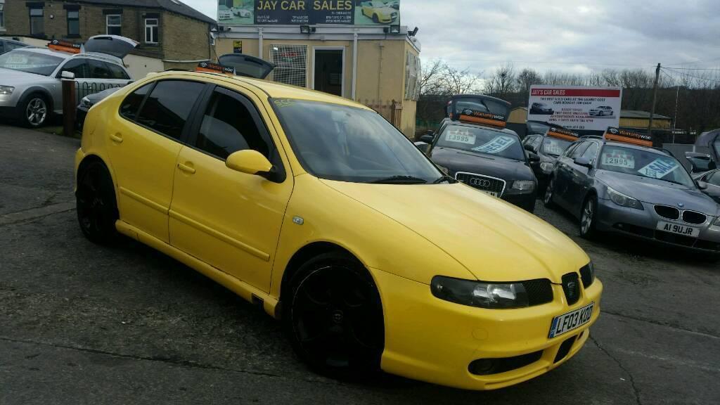 l k 2003 seat leon cupra 1 8t 245bhp 6 speed manual yellow in dewsbury west yorkshire gumtree. Black Bedroom Furniture Sets. Home Design Ideas