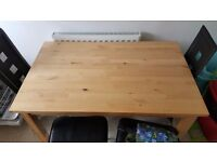 Wooden ikea table rrp £140