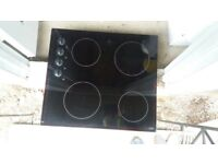 Electric oven hob