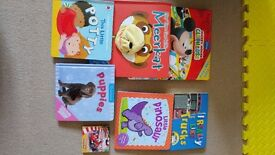 Selection of 7 lovely board books (will sell separately if preferred)