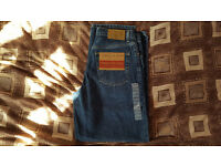 Brand New Tommy Hilfiger Freedom Jeans, Relaxed Fit, Standard Waist, Straight Leg, W 31, L 30.