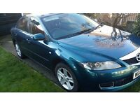Mazda 6, two litre Turbo Diesel