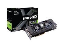 INNO3D GeForce GTX1080 Twin x2 8 GB GDDR5X 256 Bit Graphics Card
