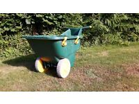 Zag Wheelbarrow- large capacity, ultra lightweight