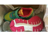 Brand New Size 10 Asics Girls Trainers