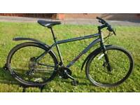 SOLD FULLY SERVICED / SUPER CONDITION VOODOO MARASA HYDRAULIC DISC SPEC HYBRID BIKE