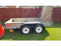 Car trailer . Plant trailer. Twin Axel9ft X 5ft3""