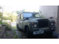 Land Rover project series 3