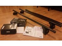 Thule Roof Bars, Footpack 753 Rapid System & Fitting Kit