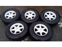 DAIHATSU FOURTRAK ALLOYWHEELS & NUTS