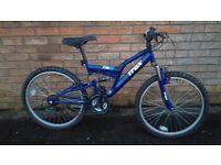 Trax TFS 24 Full Suspension Mountain Bike