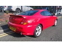 2004 (54 reg), Coupe Hyundai Coupe 2.0 SE 3dr £695 p/x welcome