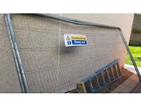 Heras fencing Standard Temporary Fencing Panels