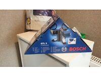 Bosch Professional GTL3 Tile,Floor & Wall Laser, 3 Cross Lines