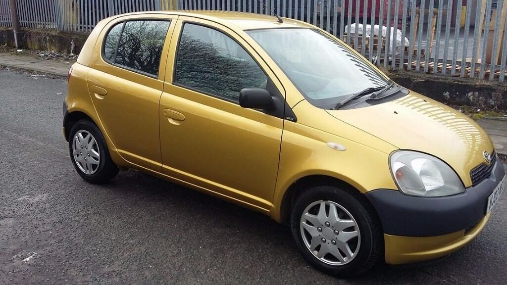 toyota yaris 2003 gs 1 0 litre 5 door gold 50k good condition in blackburn lancashire. Black Bedroom Furniture Sets. Home Design Ideas