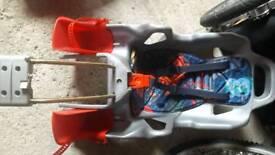 Rear bike seat f kids