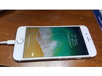 iphone 6 gold - 16gb - secound hand - free sim